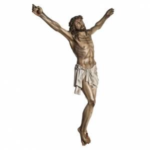 Christ en agonie pâte à bois mesures variées s2