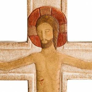Christ on the cross white painted s2