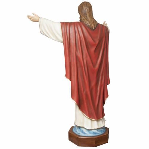 Christ rédempteur 200 cm fibre de verre s6