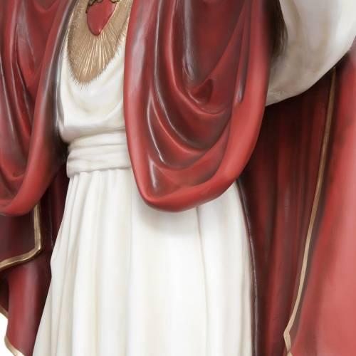 Christ rédempteur 200 cm fibre de verre s10