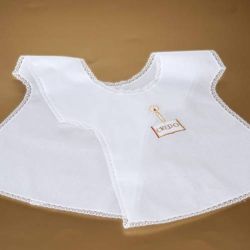 Christening gown with candle s4