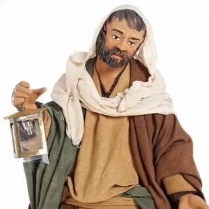 Neapolitanische Krippe: Christi Geburt mit Bewegung 24 cm