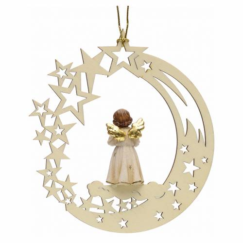 Christmas decor angel with bell star s2