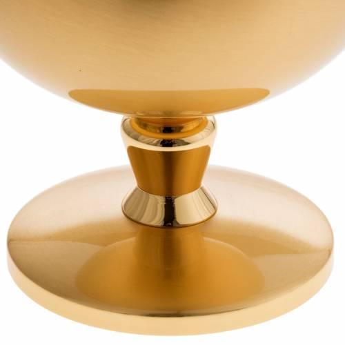 Ciboire laiton doré opaque croix celtique s3