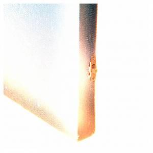 Ciel lumineux et étoile filante pour crèche 50x70cm s4
