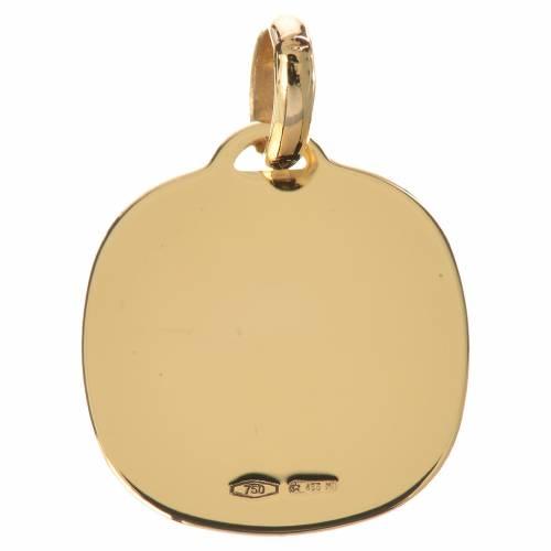 Ciondolo Madonna del Ferruzzi oro 750/00 - gr. 1,67 s2