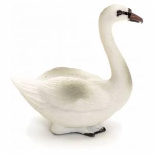 Animales para el pesebre: Cisne 12 cm pesebre