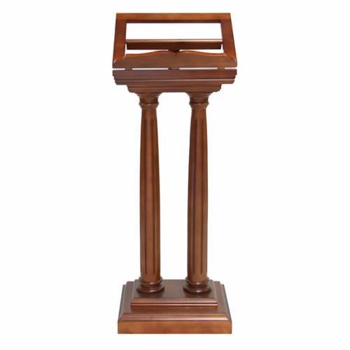 Classic double pedestal lectern s1