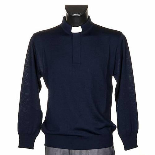 Clergyman blue polo-shirt s1
