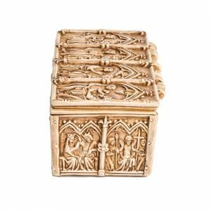 Coffret, reliquaire pierre ivoirine Bethléem s4