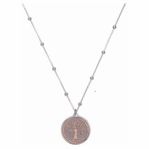 Collana Amen Argento pendente Albero della Vita s1
