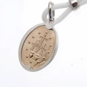 Collana Medaglia Miracolosa Argento 925 s3