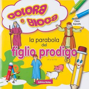 Coloriage, la parabole du  fils prodigue ITA s1
