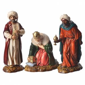 Complete nativity, 9cm Moranduzzo, 14 pieces s5