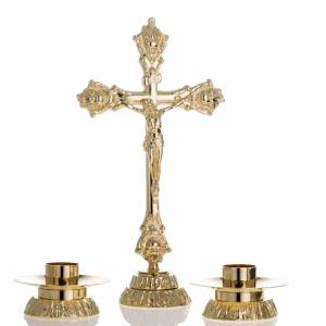 Croci da altare con candelieri: Completo per altare croce e candelieri