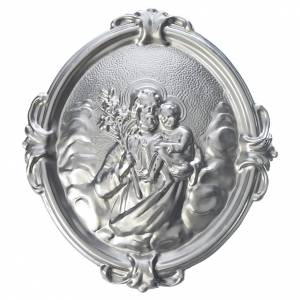 Confraternity Medals: Confraternity Medal with image of Saint Joseph