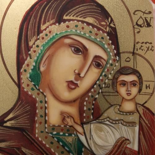 Ícono miniatura Virgen de Kazan s2