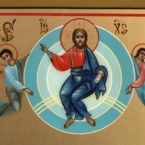 Íconos Pintados Rusia: Ícono Rusia pintada Ascensión 27 x 22 cm