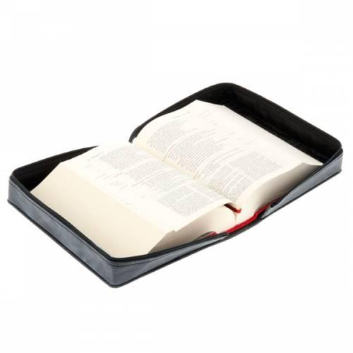 Copertina pelle Bibbia Gerusalemme s4