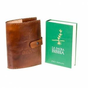 Copri Bibbia cuoio Cei Uelci 2009 s5
