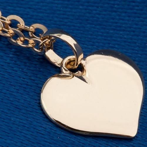 Corazón colgante oro 750/00 - gr 1,60 s4