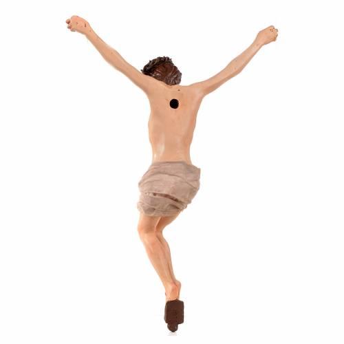Corpo di Cristo napoletano terracotta h 45 cm s4