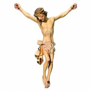Corps du Christ bois peint drap couleur blanc s1