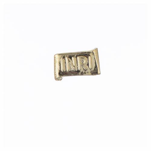 Corps du Christ en poudre de marbre fin. dorée s5