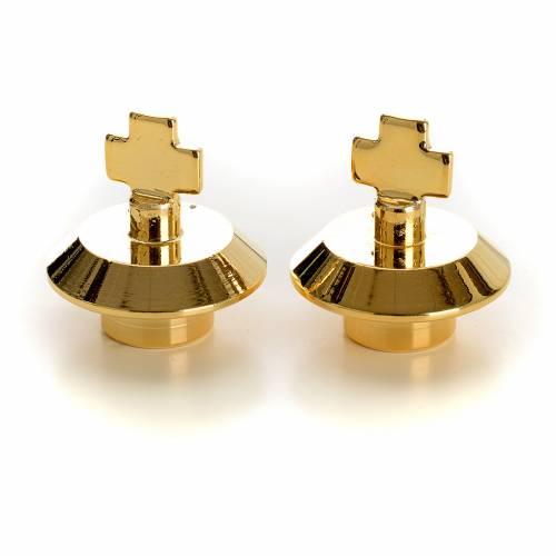 Couple of spare lids for glass cruets s1
