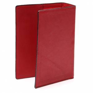 Couverture Bible Jérusalem cuir rouge Ancre Salut s3
