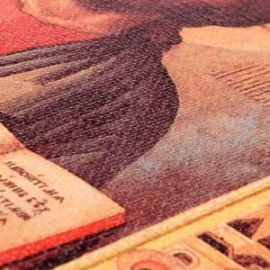 Couverture lectionnaire cuir toile Jésus s4