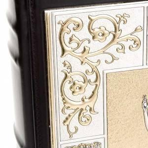 Couverture lectionnaire, cuir, vie de Jésus 31.5x22.5x5 s6