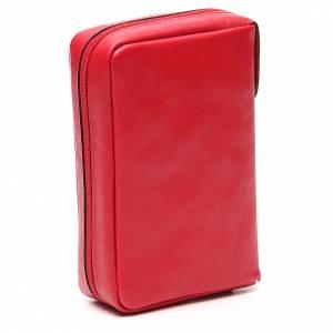 Couverture Lit. Heures 4 vol. rouge cuir Ancre du Salut s3