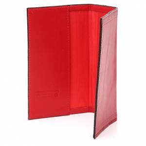 Couverture Lit. Vol. unique cuir rouge croix St Benoît s3