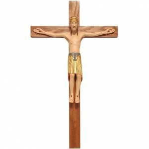 Crocifisso di Altenstadt 52 cm legno Valgardena s1