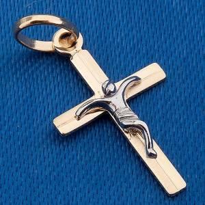 Croce pendente oro 750/00 - gr. 0,60 s3