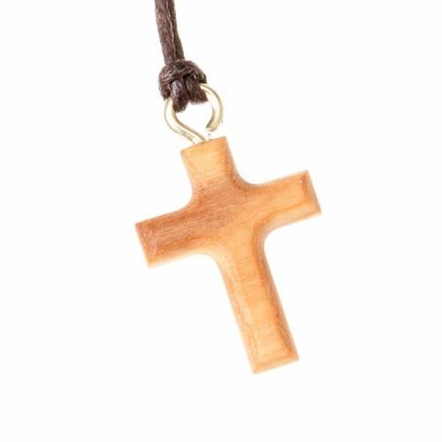 Croix classique en bois d'olivier s1