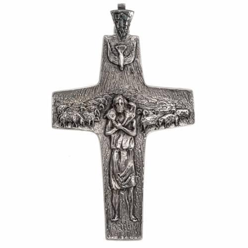 Croix Pape François argent 925 s1