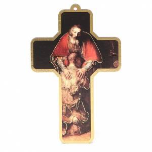 Croix pvc pénitence 13x8,5 cm s1