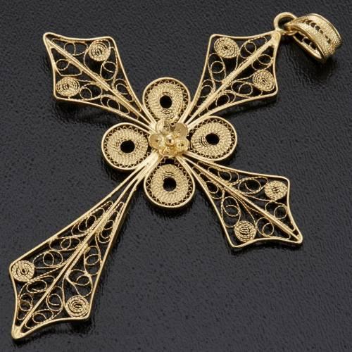 Cross pendant, 800 silver 4,2g s3