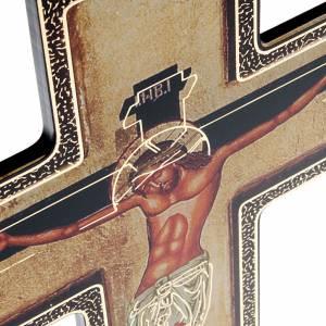 Plexiglás Crucifijos: Crucifijo Bizantino