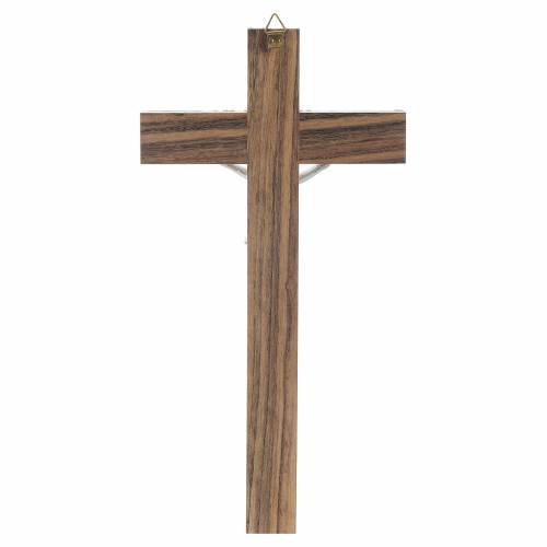 Crucifix en bois et nacre s4