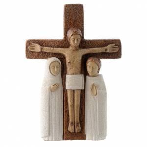 Statues en pierre: Crucifix en pierre, la compassion