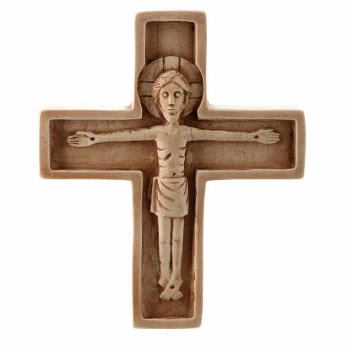 Crucifix ivoirine moyen pierre Bethléem s1