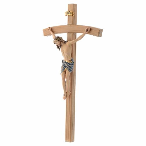 Crucifix Siena, peint, croix s2