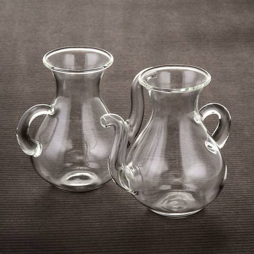 Cruets in glass with spout s3