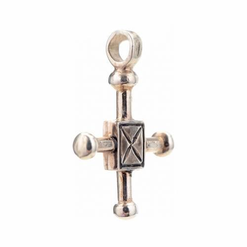 Cruz de San Geminiano 2,7x2,2 cm plata 925 s2