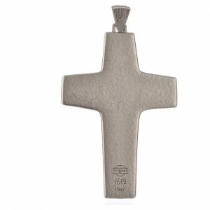 Cruz Papa Francisco 11 x 7 cm metal s2