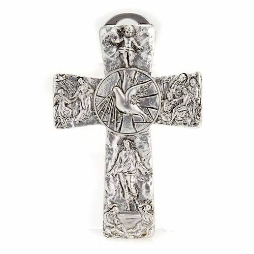 Cruz plateada deposición resurrección ascension Sp s1