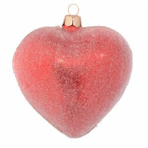 Cuore albero rosso e pietre rossei 100 mm s2